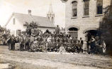 Niles Center Volunteer Fire Company Photograph, 1898