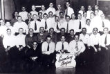 Luxembourg Brotherhood of America Bowling League Photograph, 1939