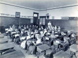 Niles Center Public School Classroom Photograph, 1901