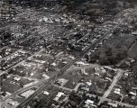 Aerial Photograph of Lincoln Avenue and Main Street, circa 1960