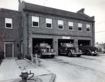 Skokie Fire Department Hamlin Avenue Station Photograph, circa 1960