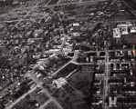 Aerial Photograph of Downtown Business Area in Skokie, 1951