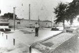 Niles Center Recreation Rooms Miniature Golf Course Photograph, 1925