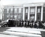 Niles Center Police Department at Village Hall Photograph, circa 1935
