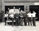 Skokie Fire Department Hamlin Avenue Station Photograph, June 1956