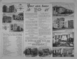 Real estate advertisements from The Lincolnite, Thursday, August 22, 1929