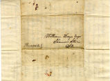 Hayes Letter 1836070401, James Brown to William Hayes