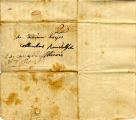 Hayes Letter 1837092601, William Hayes to his family