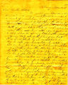 Hayes Letter 18381129, Michael J. Johnston to William Hayes