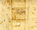 Hayes Letter 1838091101, James Hayes to William Hayes