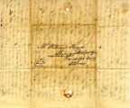 Hayes Letter 1838072501, Michael J. Johnston to William Hayes
