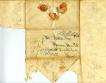 Hayes Letter 1843121501, Reuben Wait to William Hayes