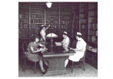 Library, St. John's School of Nursing, mid-1940s