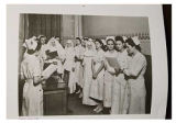 St. John's School of Nursing, morning report 1940s