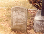 Bayliss Family, Sterling, Illinois, Civil War Tombstone of Corporal Alfred Bayliss