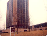 Bayliss Family, Sterling, Illinois, Bayliss Hall, Western Illinois University erected 1966