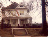 Bayliss Family, Sterling, Illinois, home at 719 West Adams St., Macomb, IL, across street from...
