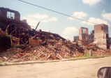 Downtown Redevelopment, Sterling, Illinois, Demolition