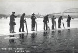 Fulton, Illinois, Mississippi River Ice Harvest