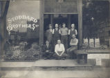Grocery Stores, Sterling, Illinois, Stoddard Brothers, Exterior, Employees & owners