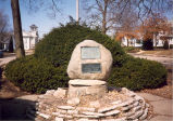 Brink family, Sterling, Illinois, Brink,  Hezekiah Memorial Rock