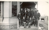Hennepin Canal & Feeder, Sterling, Illinois, Capt. Honens and Office Staff