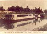 Hennepin Canal & Feeder Sterling, Illinois, First Freight