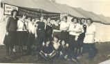 Zouaves, Lady, Sterling, Drill Team, Clubs, Springfield, Illinois production