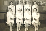Sterling Hospital Nursing School, Sterling, Illinois, Student Nurses, Class of 1943, Graduation