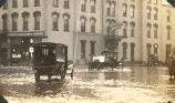 Flood, Sterling, Illinois, Streets by Galt Hotel, Sterling Association of Commerce, A & S....