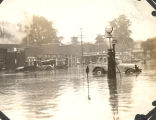Flood, Sterling, Illinois, Streets, Garland Service Automobile