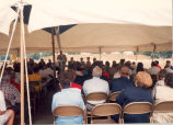 Downtown Redevelopment, Sterling, Illinois, County Market Grocery Store, Ground breaking...