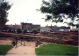 Downtown Redevelopment, Sterling, Illinois, Buildings, View Southeast from Library, Demolition