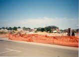 Downtown Redevelopment, Sterling, Illinois, Buildings, Demolition view of Library from West 3rd...