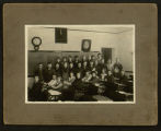 Photograph of 4th, 5th, and 6th grades - Towanda Grade School Class in 1920