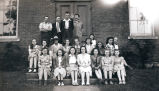 Photograph of Young People's Group in 1941