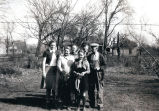 Photograph of Threlfall family in 1941