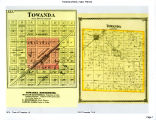 Plat maps of Towanda, Towanda Township, and Money Creek Township
