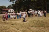 Photograph of Towanda Library ground breaking