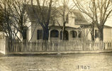 Photograph of Hirst residence in Towanda in 1907