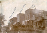 Photograph of Towanda's Main Street Businesses in 1896