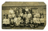 Photograph of 1916 Towanda School primary class