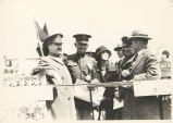 Dignitaries at a Military Event, Fort Sheridan