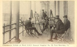 Commercial Artists at Work U.S.A. General Hospital No. 28, Fort Sheridan, Ill.