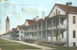 Fort Sheridan U.S. Cavalry Barracks, Chicago.