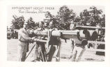 Anti-Aircraft Height Finder, Fort Sheridan, Illinois