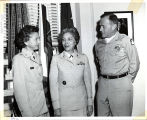 WAC Director Visits Headquarters Fifth U.S. Army.  92.24.1956