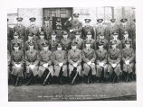 HQ and HQ Btry. Fort SHeridan - Ill. 1937.  Capt. A.E. Wilson - Comdg.
