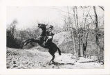 Soldier on a Rearing Horse, Fort Sheridan
