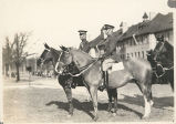 Two Officers on Horseback